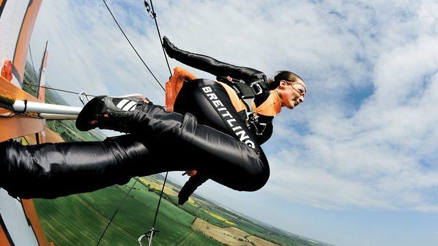Vågale vingevandrere utfører hårreisende stunt