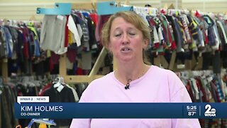 Pop-up shops affordable prices has parents scrambling