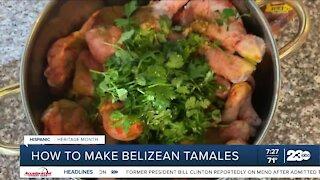 How to make Belizean tamales