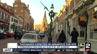 Annapolis gets ready for New Year's Eve celebration