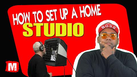 How to setup a home recording studio