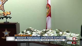 Investigators Seized More than $1 Million in Cash