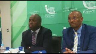 Tshwane city manager disputes report on tender scandal (JFP)