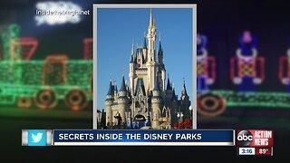 Secrets inside Disney parks