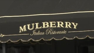 Mulberry Italian Ristorante, one of the area's favorite eateries, is open again