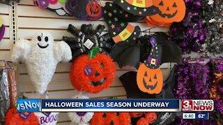 Halloween sales season underway