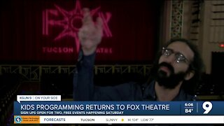 Kids Programming returns to the Fox Theatre