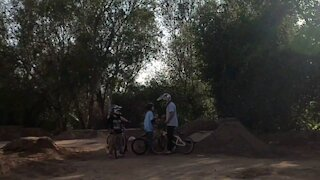 Bike Track With The Boys