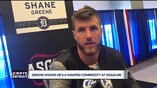 Shane Greene knows the Tigers could trade him
