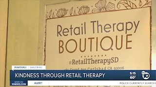 Carlsbad owner selling kindness through Retail Therapy