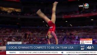 Gymnastics Olympic Trials underwayo