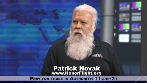 Patrick Novak of Honor Flight Is Supporting Our American Heroes