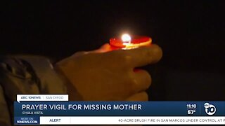 Prayer vigil held for missing Chula Vista mother