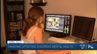Pandemic impacting children's mental health