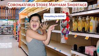 CoronaVirus Store Mayham Shortage: What's Really Happening In The Stores?