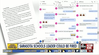 Sarasota School District recommends termination of C.O.O.