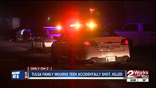 Tulsa family mourns teen accidentally shot, killed