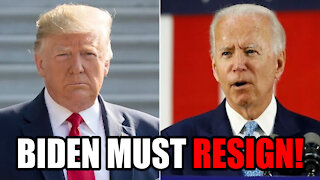Trump Calls for Biden to RESIGN Over Afghanistan and other Issues