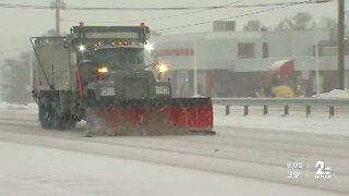 Maryland highway crews prepare for winter storm