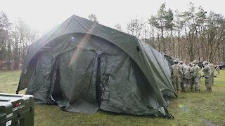 AFN Europe News Story-30th Medical Brigade Pre-Deployment Training