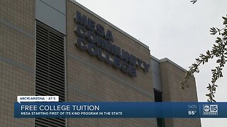 Free college tuition in Mesa