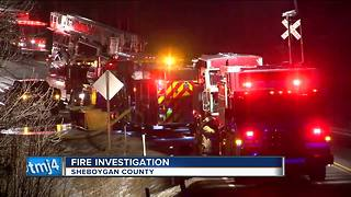Family of 3 displaced after Sheboygan County house fire