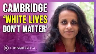 'White Lives Don't Matter'