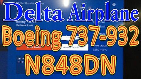 Delta Plane N848DN