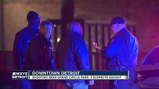 Teen shot in downtown Detroit