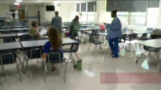 Wisconsin Lutheran high school testing for antibodies