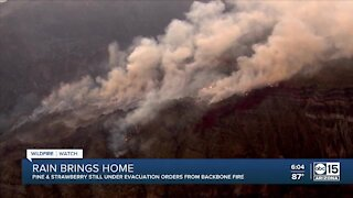 Efforts to support Backbone Fire evacuees with #StrawberryStrong