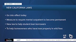 Several new laws take effect in California on July 1