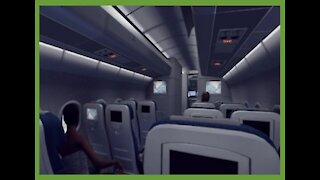 Plane crash VR video