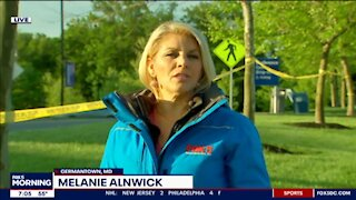 FOX 5 reporter Melanie Alnwick tells viewers it's safe to vaccinate children from Covid
