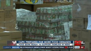 Food bank is prepared to support more families