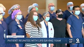 Local man reunites with health care team who saved his life