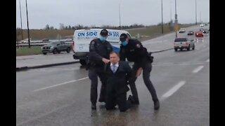Polish Pastor Who Went Viral For Kicking Out Mask Police Arrested