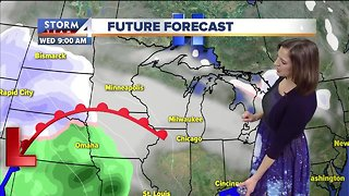 Light dusting possible for Christmas Day