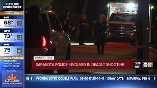 Officer involved shooting in Sarasota