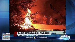 TFD puts out early morning abandoned building fire