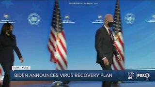 Biden announces recovery plan