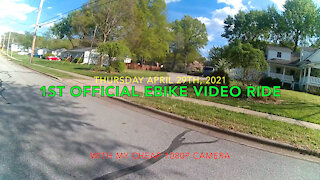 1st Official Ebike Video Ride - Aostirmotor S17
