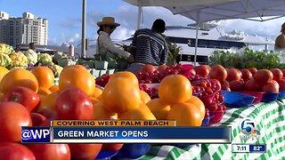West Palm Beach Green Market opens