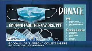 Goodwill collecting PPE donations for local front-line workers
