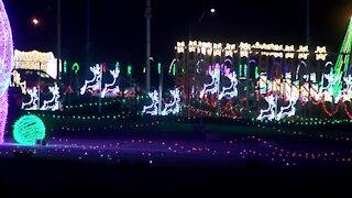 Werner Park Hosts Santa's Rock n Lights