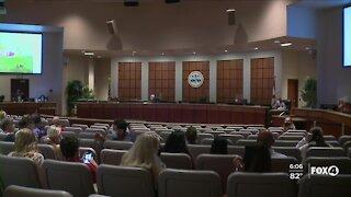 Lee County School Board meeting tonight