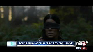 Local officers warn against viral 'Bird Box Challenge'