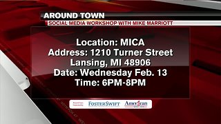 Around Town 2/12/19: Social media workshop with Mike Marriott