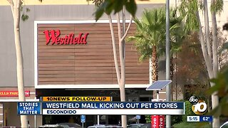 Pet stores to be kicked out of Westfield malls