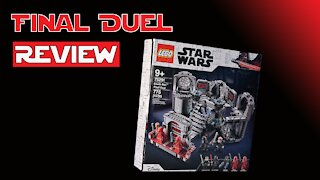 Review | LEGO Star Wars: Return of The Jedi Death Star Final Duel #75291